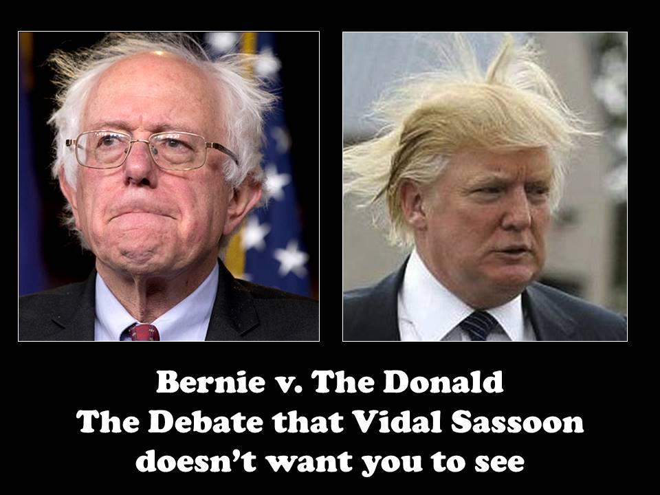 Bernie v The Donald